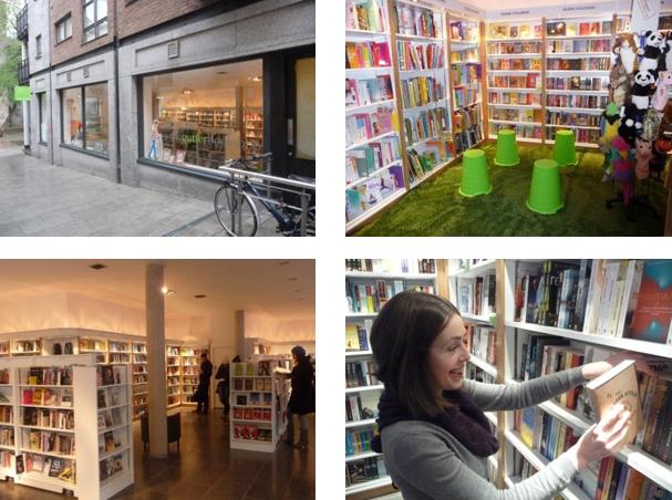 gutter bookshop cows lane temple bar dublin ireland