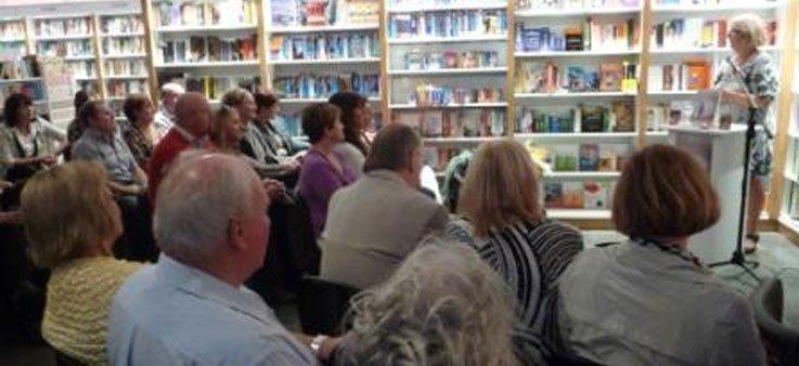 gutter bookshop author events