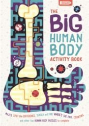 Elcomb Big Human Body Activity Book