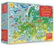 Europe Usborne Atlas and Jigsaw