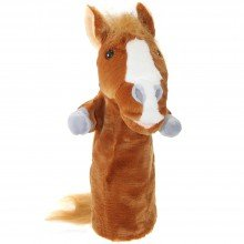 Horse Long Sleeved Hand Puppet Puppet