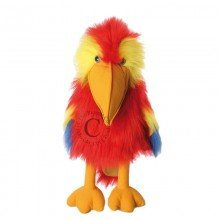 Large Birds Scarlet Macaw Puppet