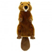 Long Sleeved Beaver Puppet