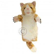 Long Sleeved Cat Ginger Puppet