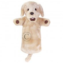 Long Sleeved Labrador Yellow Puppet