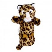 Long Sleeved Leopard Puppet