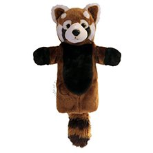 Long Sleeved Red Panda Puppet