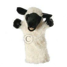 Long Sleeved Sheep White Puppet