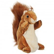 Long Sleeved Squirrel Red Puppet