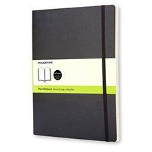 Moleskine Soft Extra Large Plain Notebook Black