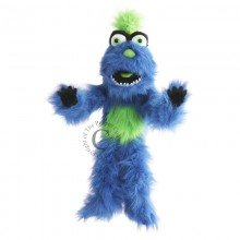 Monsters Blue Puppet