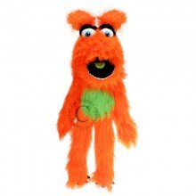 Monsters Orange Puppet