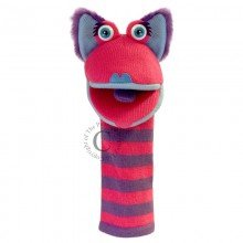 Sockettes Kitty Puppet