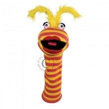 Sockettes Lipstick puppet