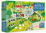 On The Farm Usborne Book and Jigsaw
