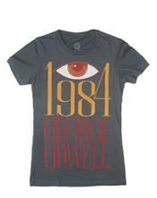 t-shirt 1984 womens skinny