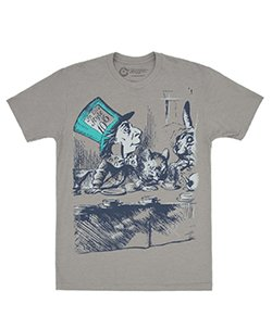 t-shirt mad hatter unisex alice in wonderland