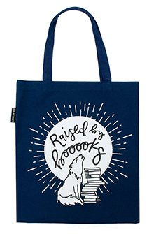 Tote Raised by Books