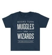 t-shirt kids books turn muggles into wizards