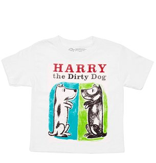 t-shirt kids harry the dirty dog