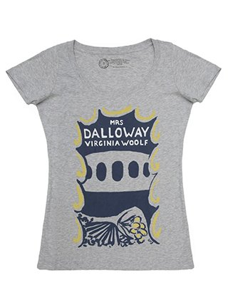 tshirt mrs dalloway womens