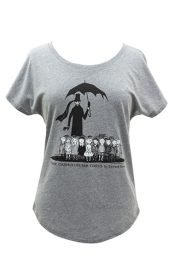 tshirt womens Gashlycrumb Tinies XL