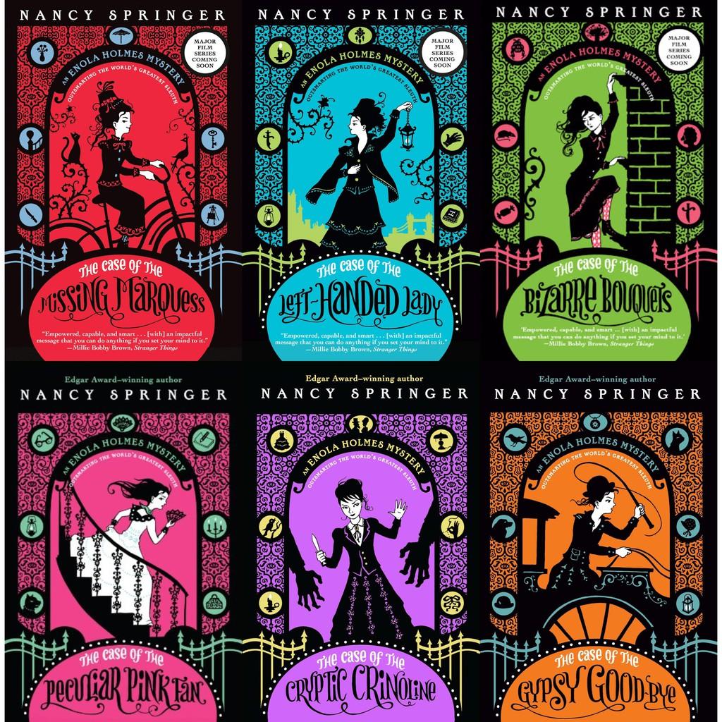 Enola Holmes Mystery Series (6 Books) by Nancy Springer – Gutter Bookshop