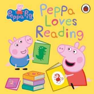 peppa loves reading