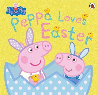 pig peppa loves easter