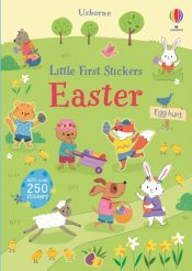 usborne little first stickers easter